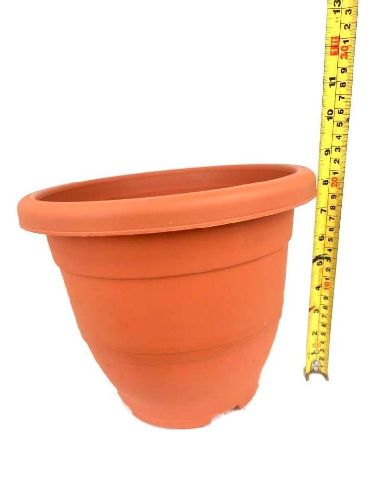 Baba Flower Pot @ 26 cm (D) x 21 cm (H) » Gardening Supplies